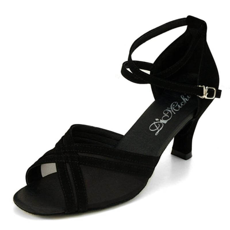 "Dimichi ""Marissa"" Suede Sole Ballroom Shoes"