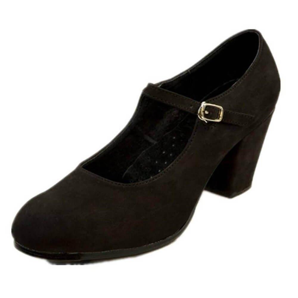 "DiMichi Adult ""Patricia"" Suede Flamenco shoe"