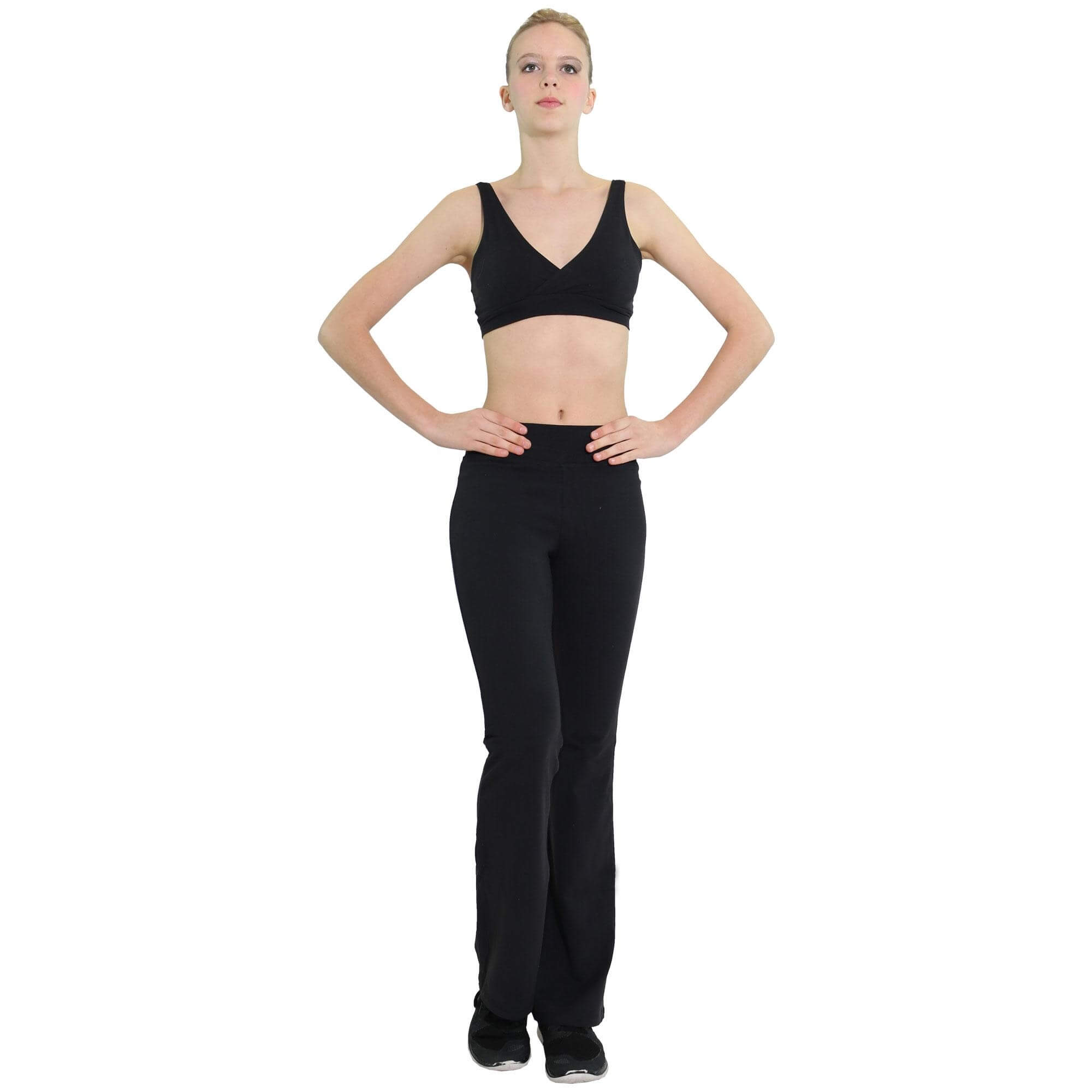 Danzcue Suede Supplex Balance Pants