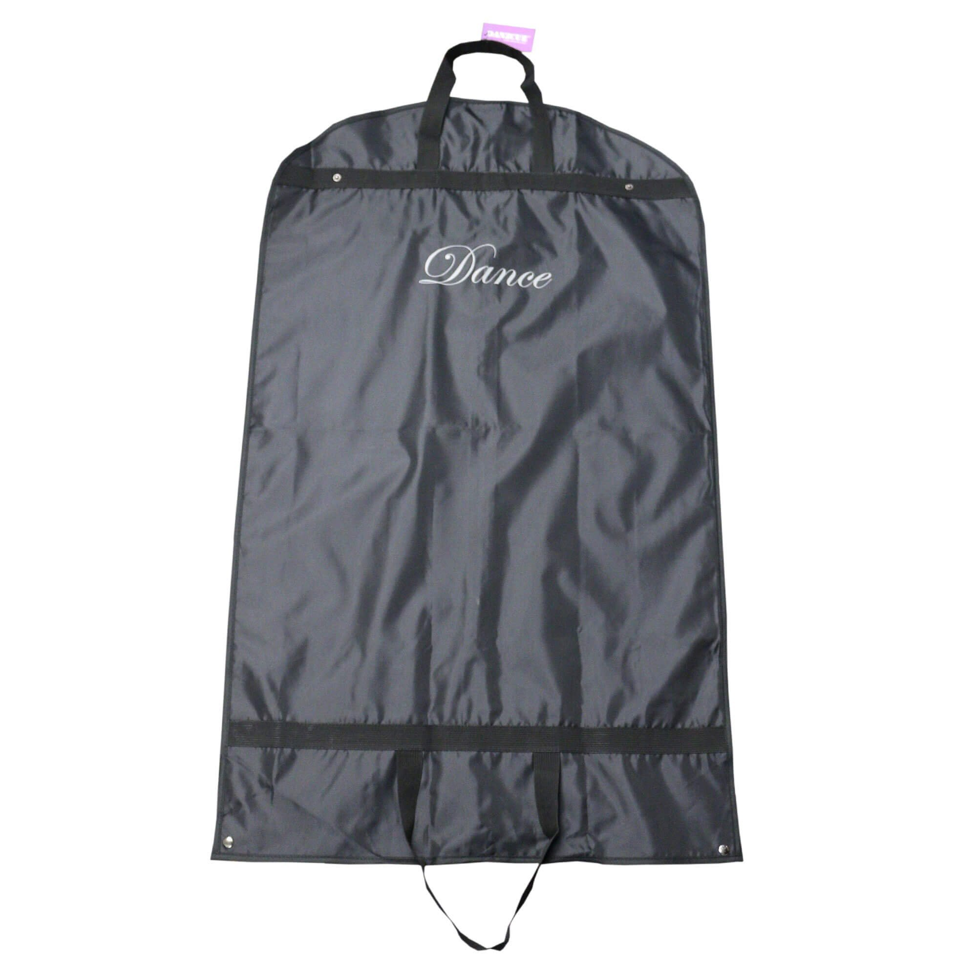 Danzcue Dance Basics 42x25 Black Garment Bag