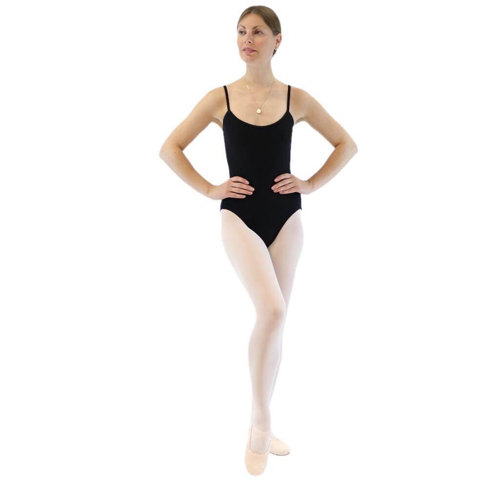 danzcue adult ballet camisole leotard