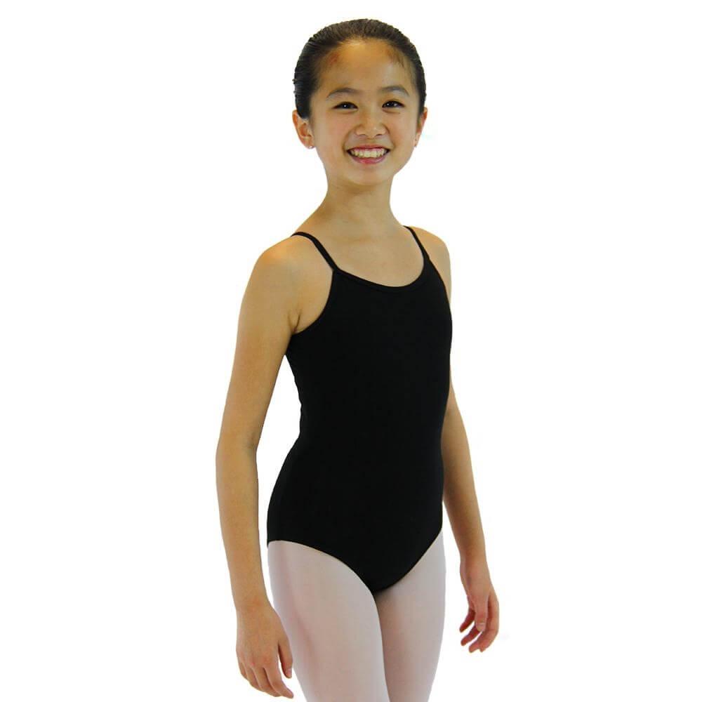 4a114bb2b3b6 Danzcue Child Nylon Ballet Camisole Leotard  DQBL008C  -  12.99
