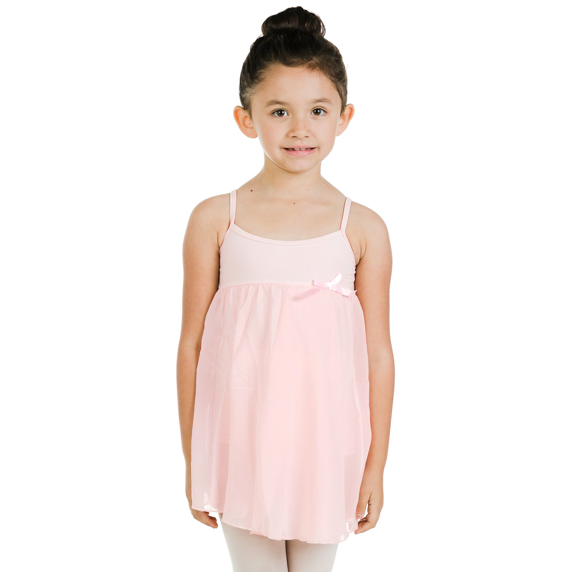 Danzcue Girl's Camisole Dress leotard
