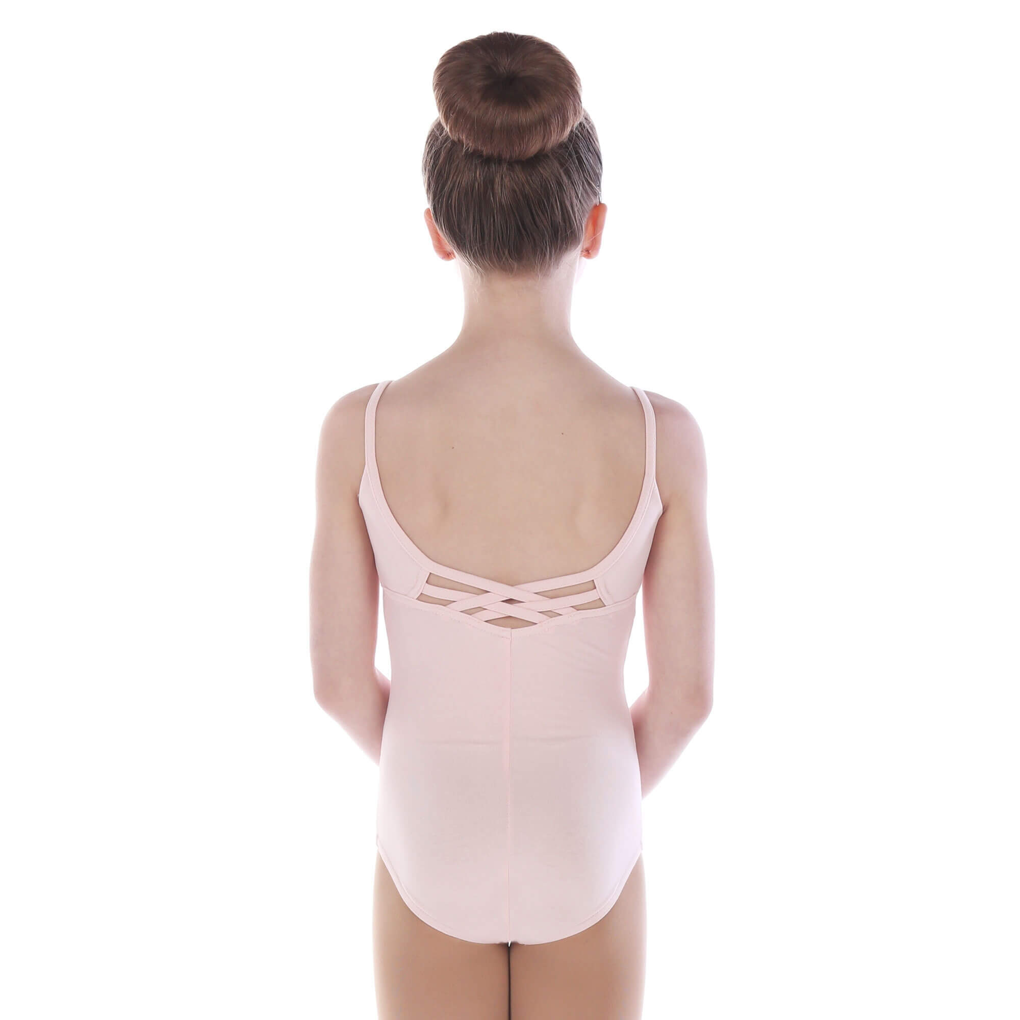 Danzcue Child Cross Back Camisole Leotard