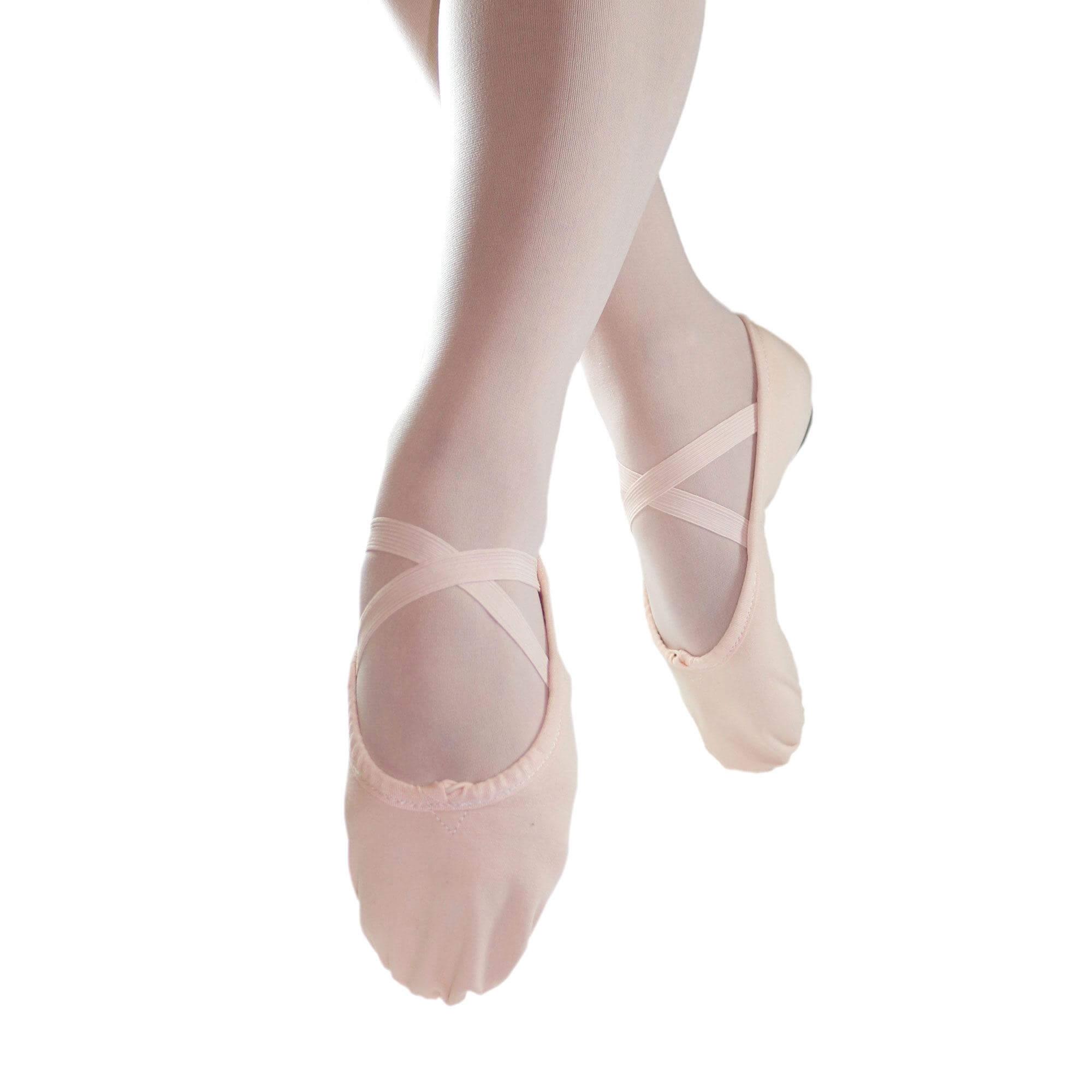 f81bf1d491f8 Danzcue Child Split Sole Canvas Ballet Slipper