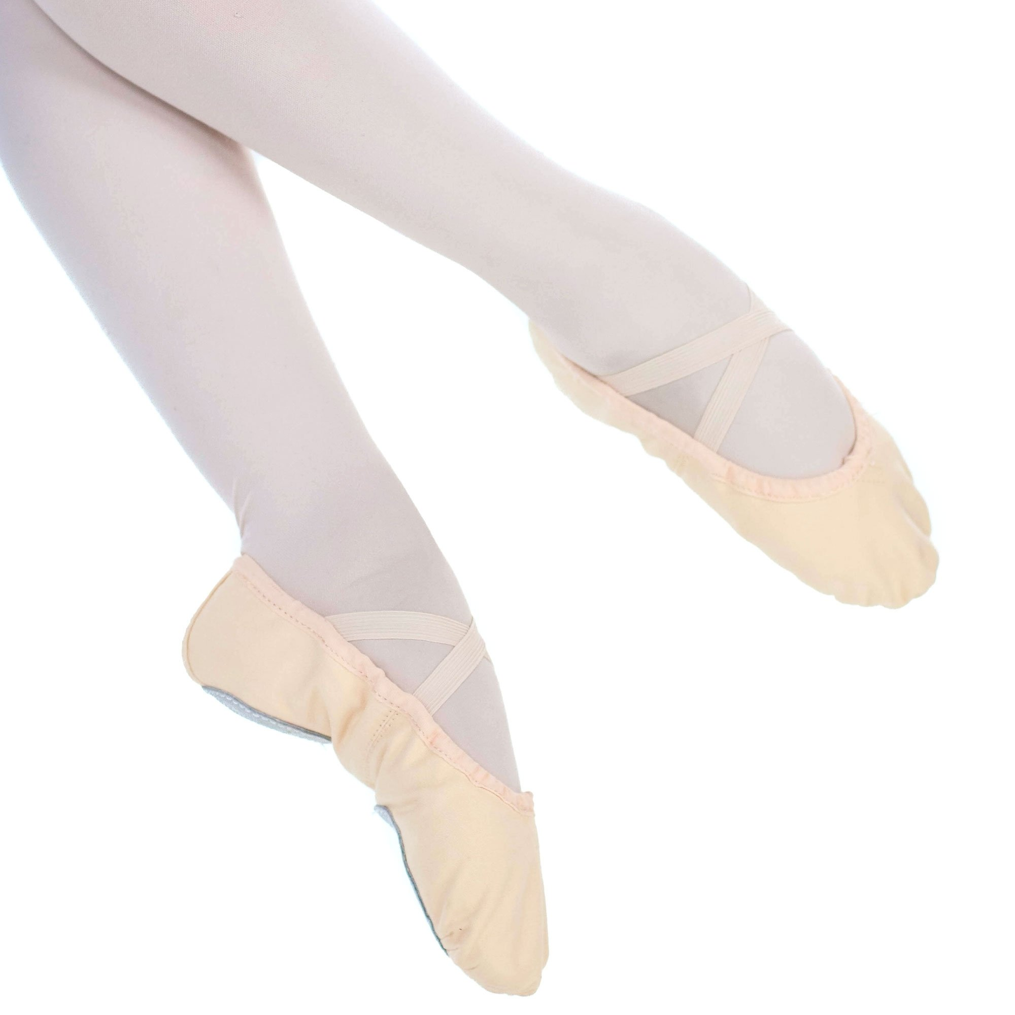 danzcue child split sole canvas ballet slipper