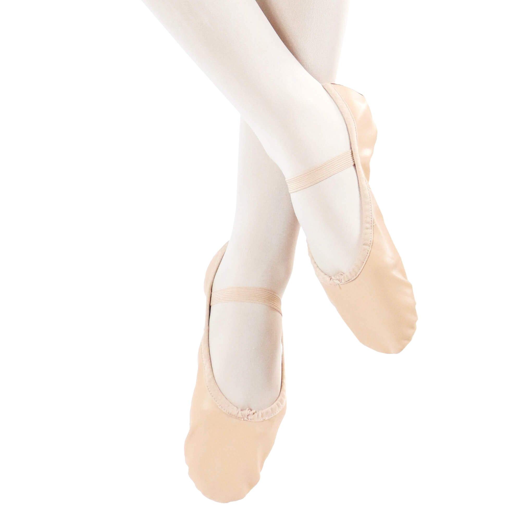 36718c8cdacc Danzcue Adult Full Sole Leather Ballet Dance Slipper