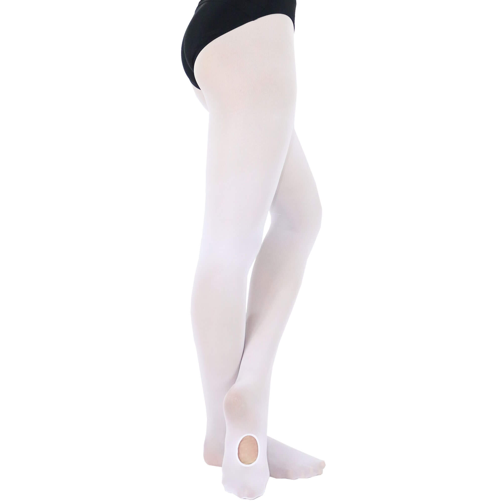 Danzcue Adult Ultra-Stretch Convertible Tights