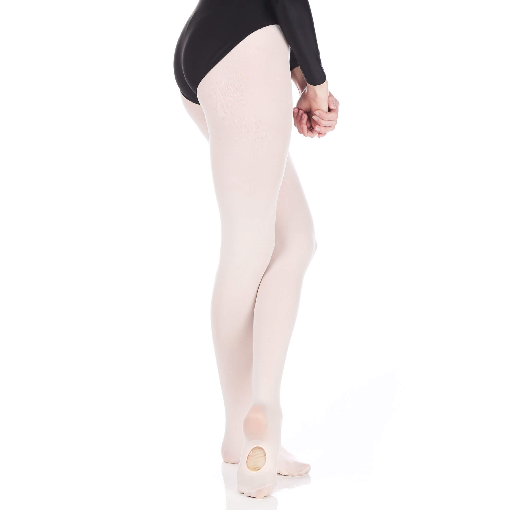 Danzcue Women's Ultrasoft Stretch Convertible Tights
