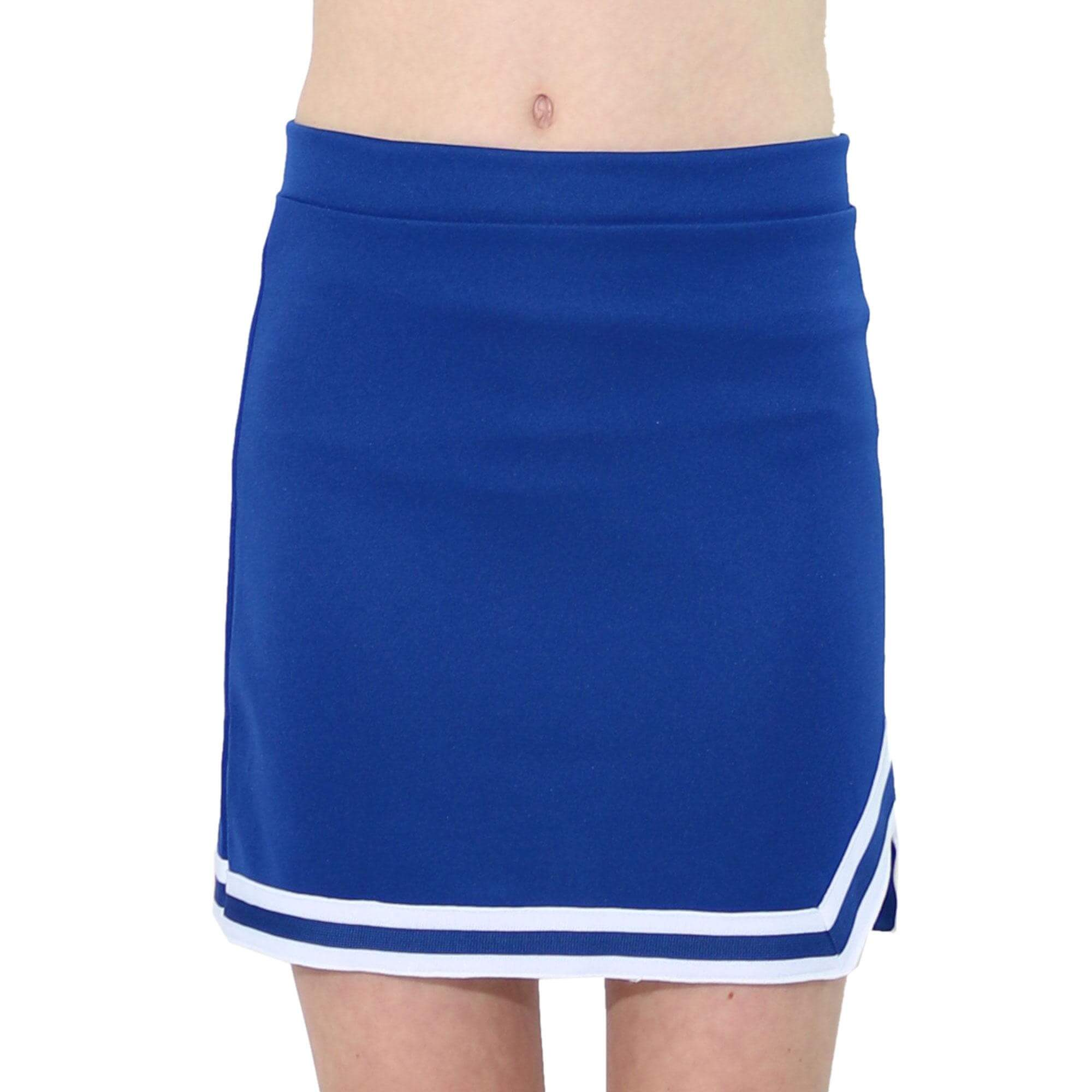 Danzcue Child Double V A-Line Cheer Skirt