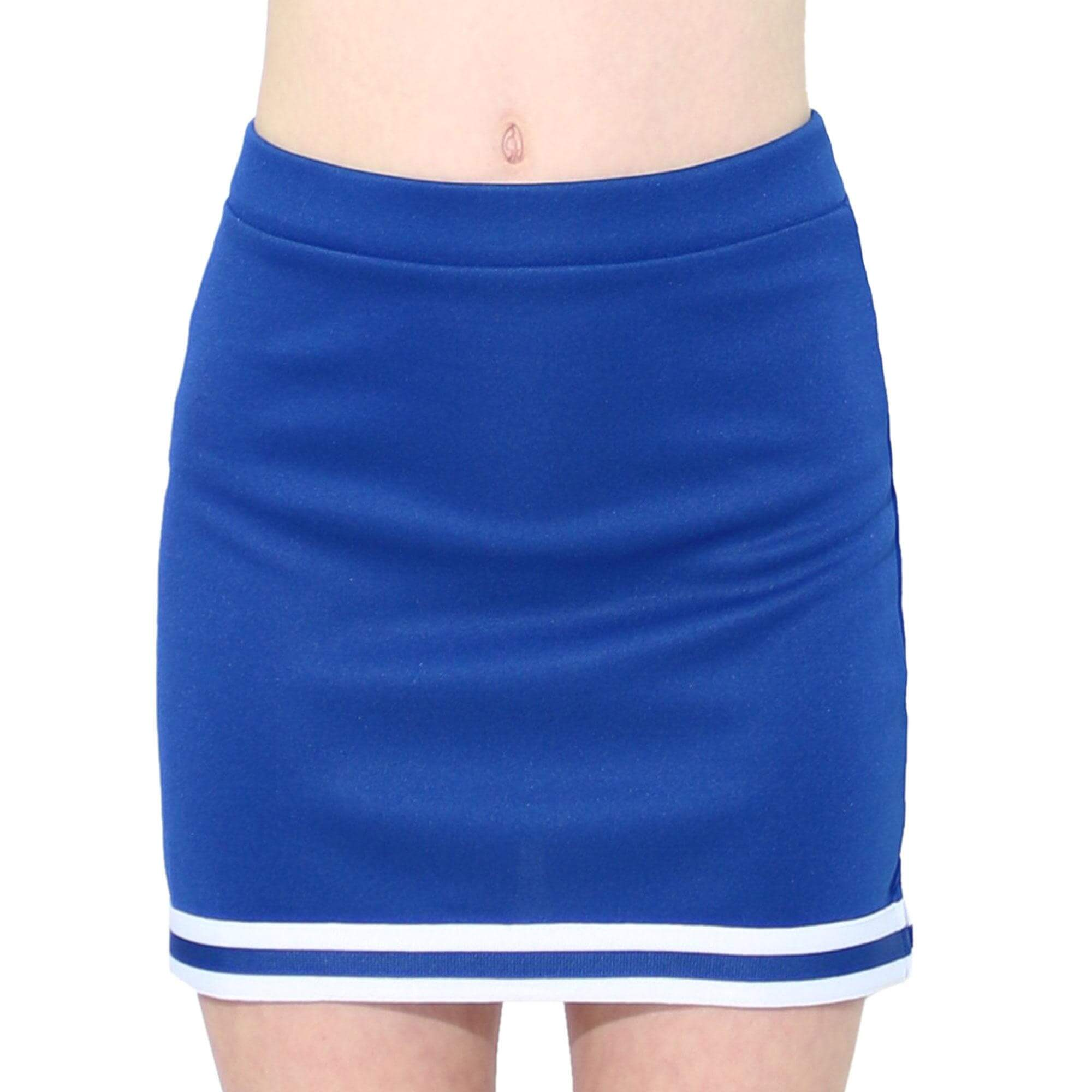 Danzcue Child A-Line Cheerleading Skirt - Click Image to Close