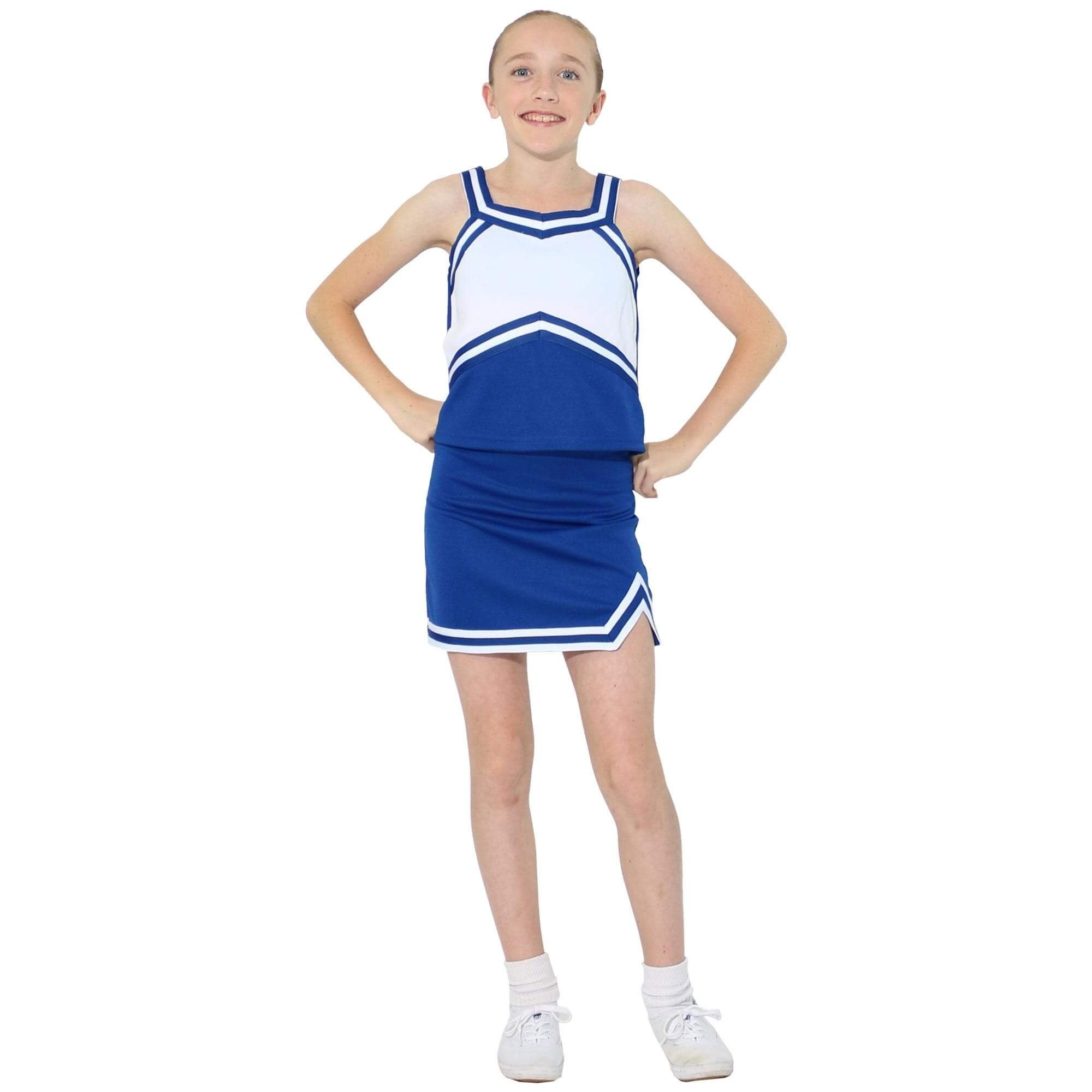 Danzcue Child Sweetheart Cheerleaders Uniform Set