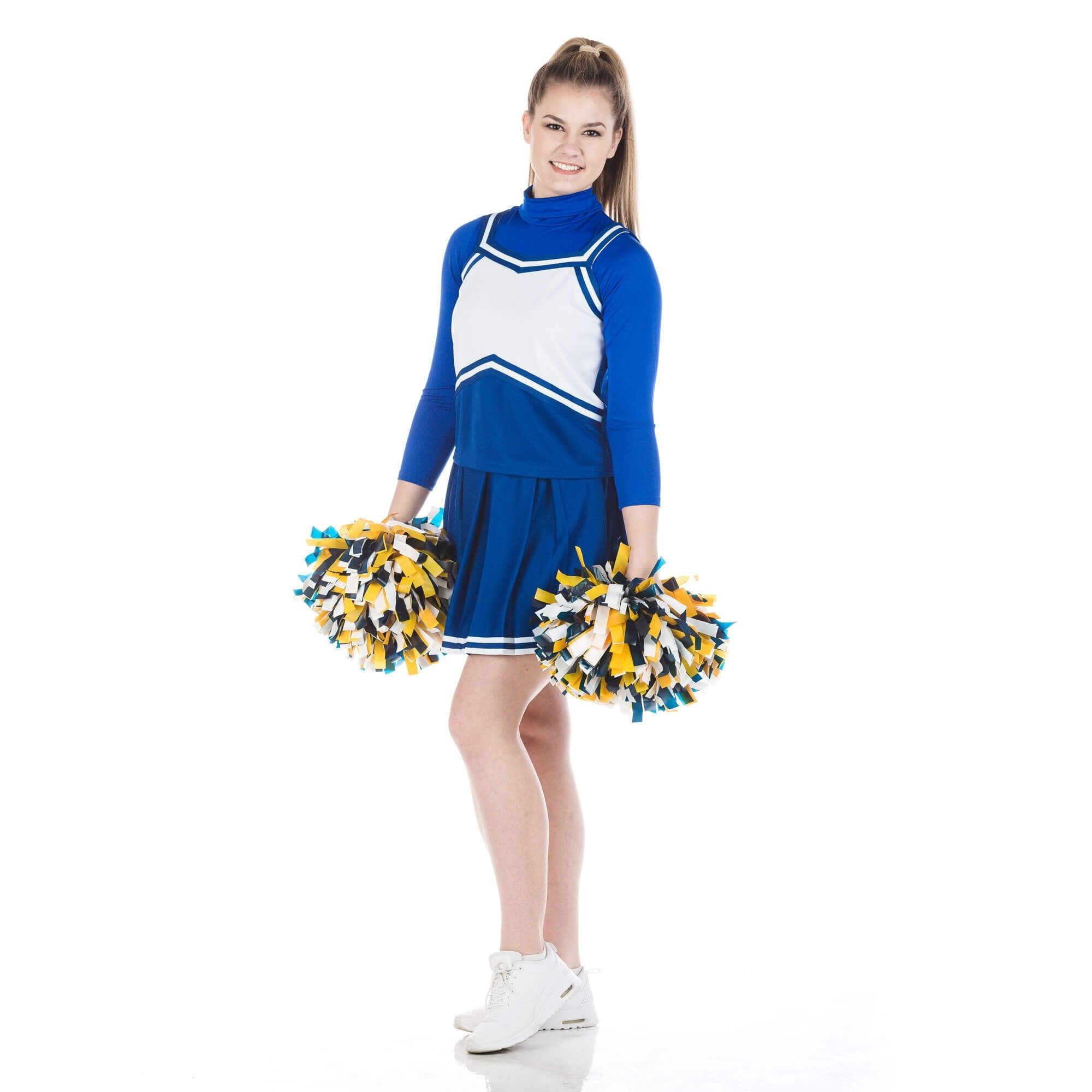 Danzcue Adult Sweetheart Knit Pleat Skirt Cheerleaders Uniform Set