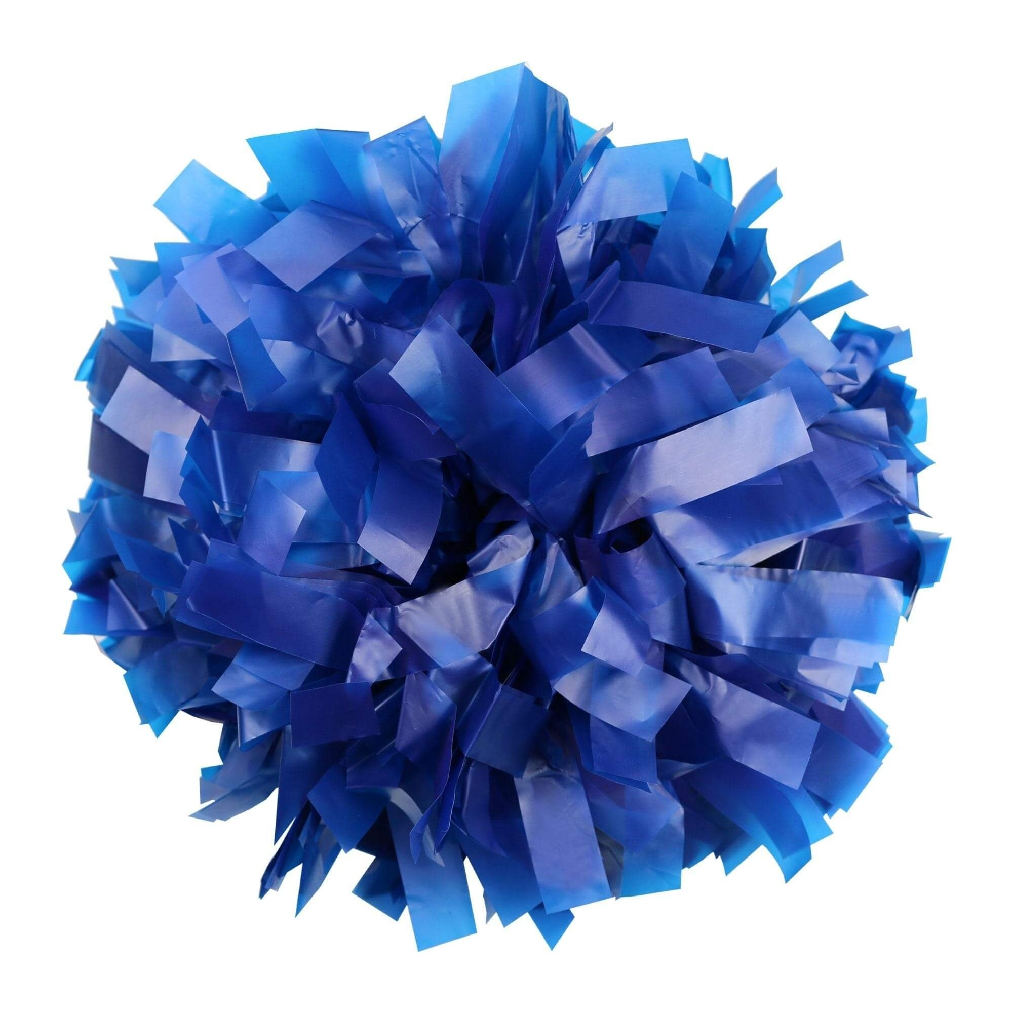 Danzcue Royal Blue Plastic Poms - One Pair
