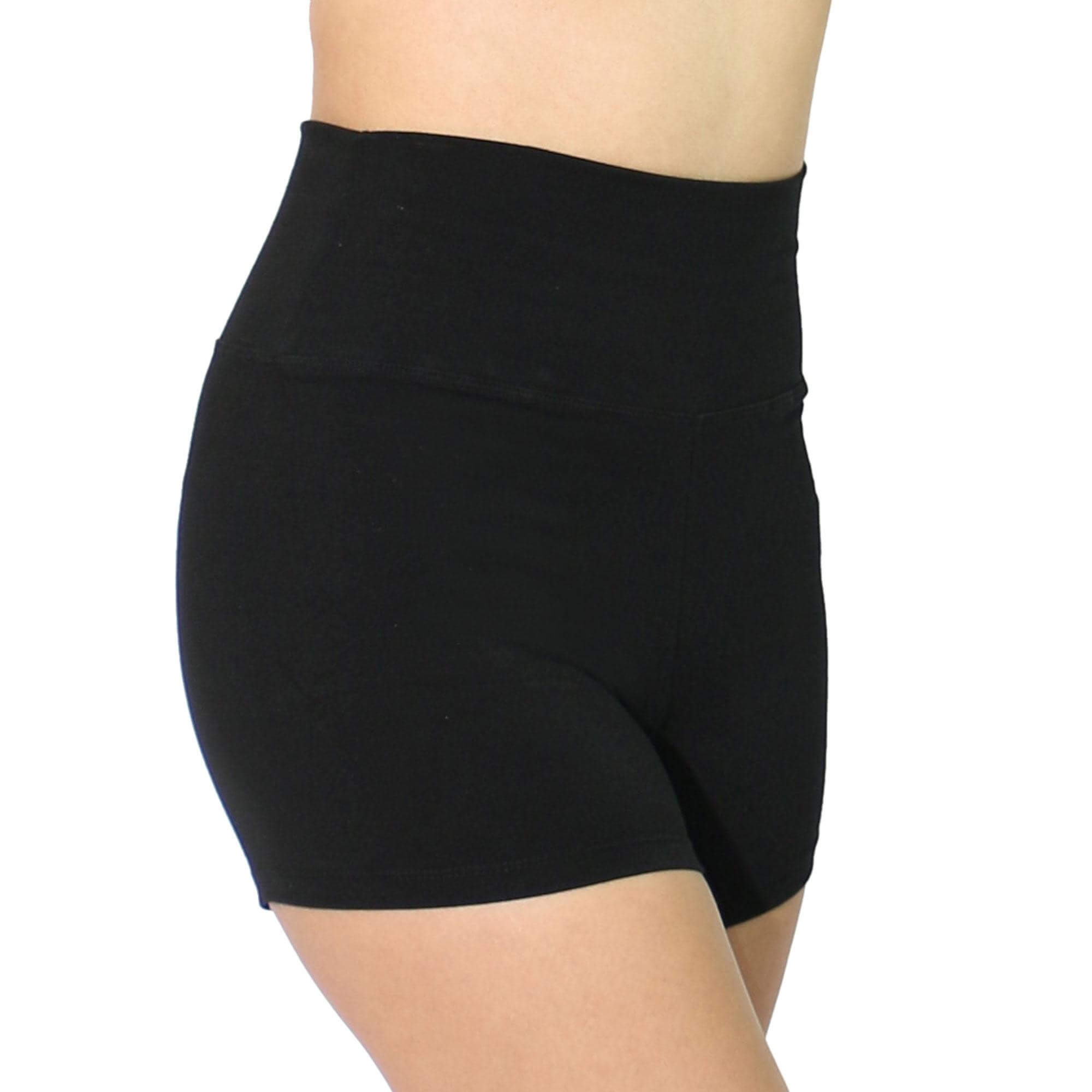 Danzcue Adult High Waist Jazz Short