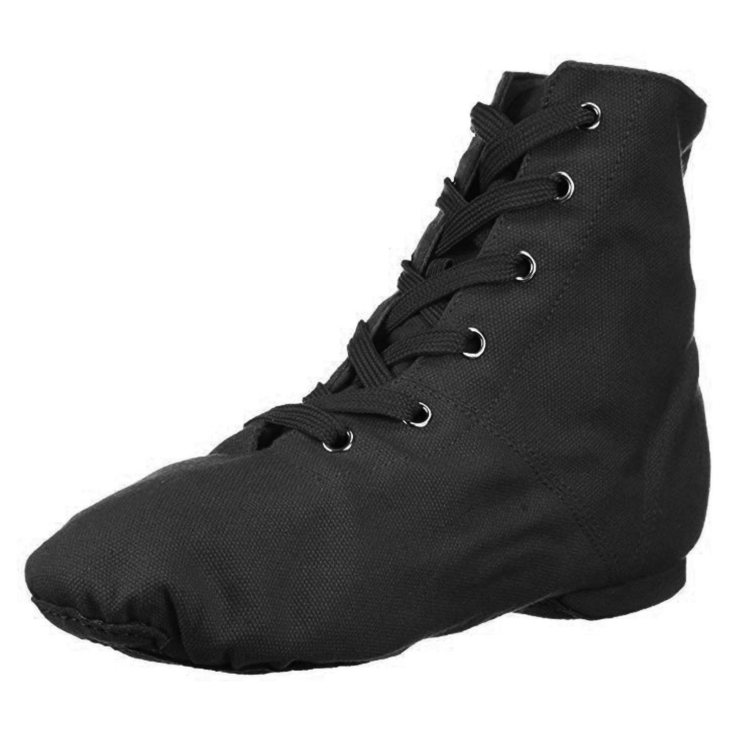 Danzcue Adult Canvas Jazz Shoes - Click Image to Close