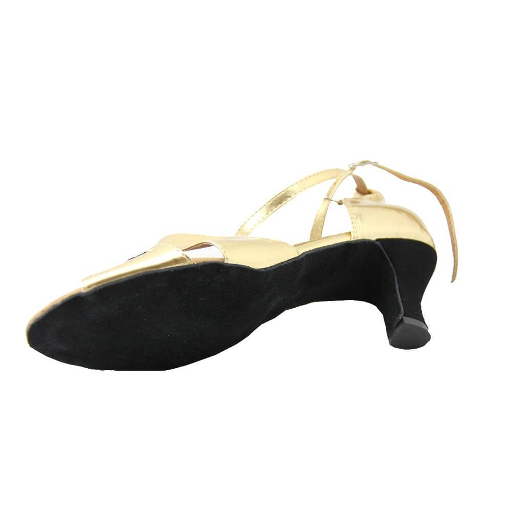 "Danzcue ""Empress"" Adult Open Toe Ballroom Shoes"