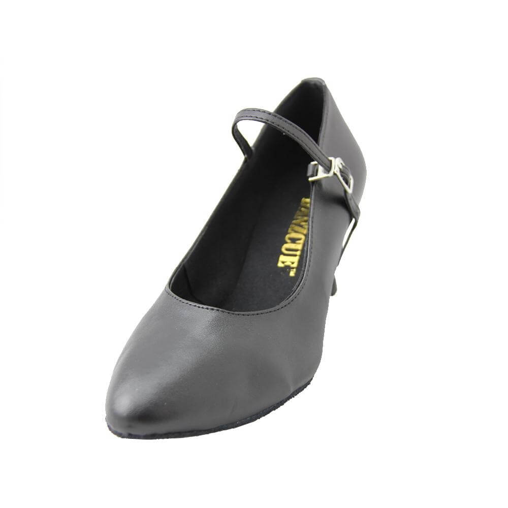 "Danzcue ""Claire"" Adult Closed Toe Ballroom Shoes - Click Image to Close"