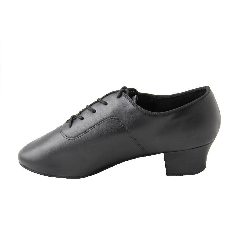 "Danzcue ""Alto\"" Adult Leather Upper 1.5\"" Heel Latin Shoes"
