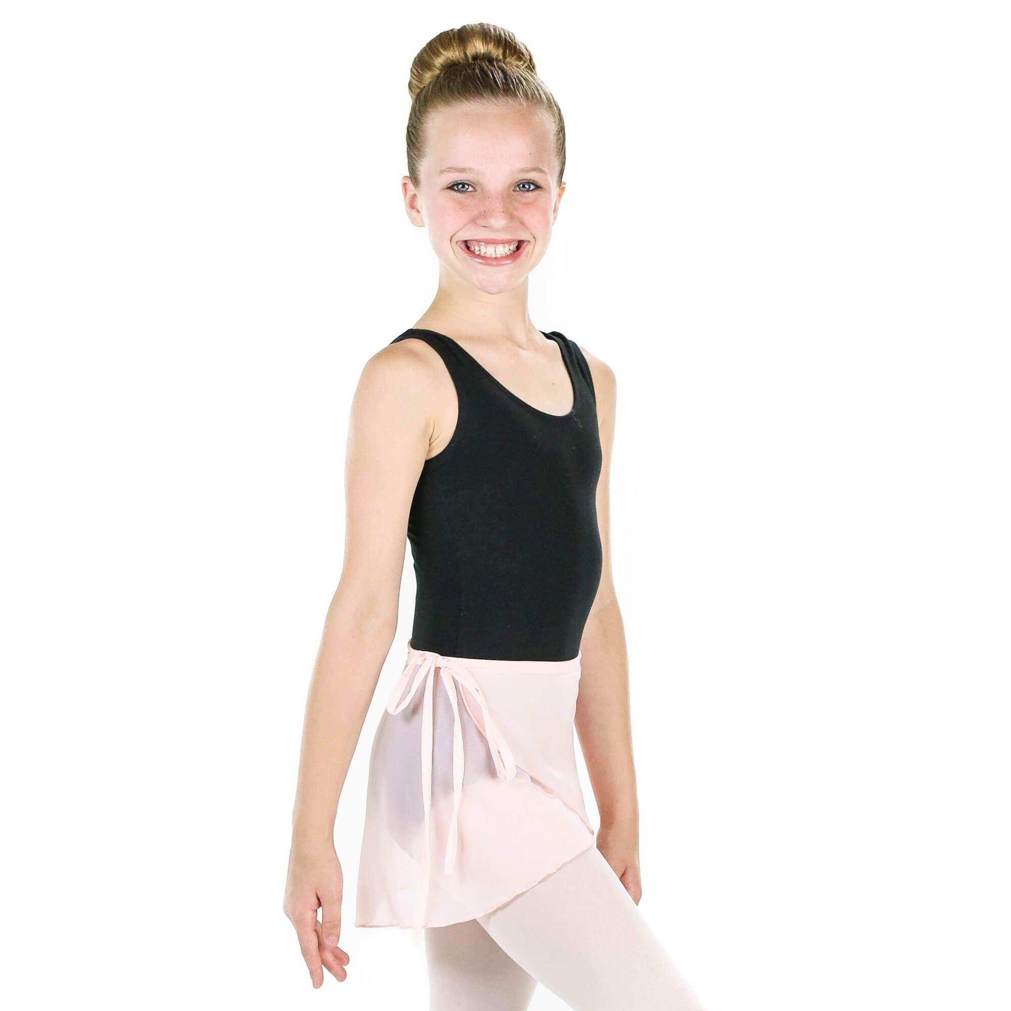 Zaclotre 3 Pack Girls Ballet Chiffon Wrap Skirts for Dance