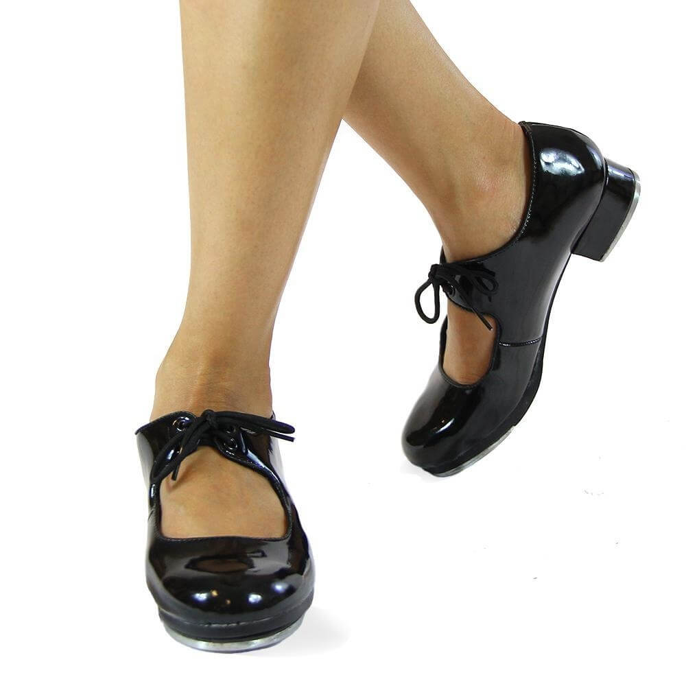 "Danzcue ""Jayne\"" Adult PU Upper Tap Shoes"