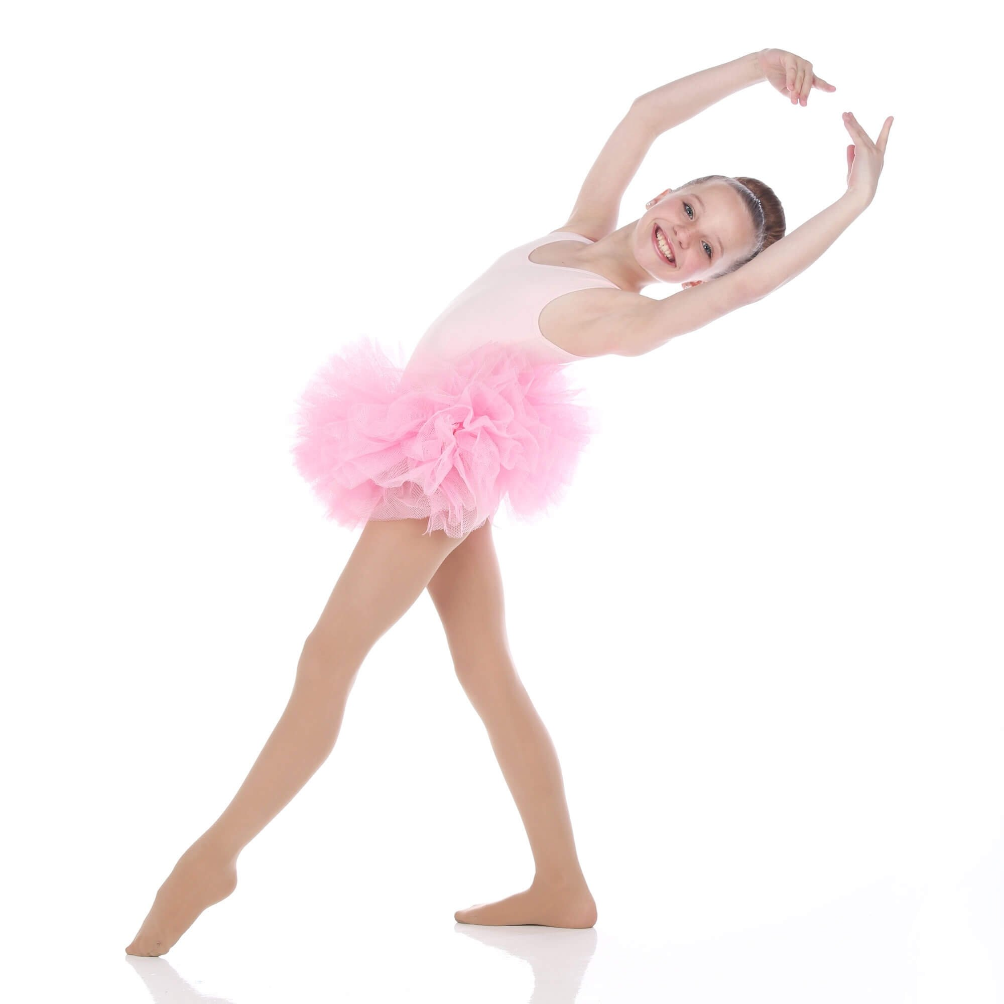 Danzcue Girls Ballet Tulle Tutu Skirt - Click Image to Close