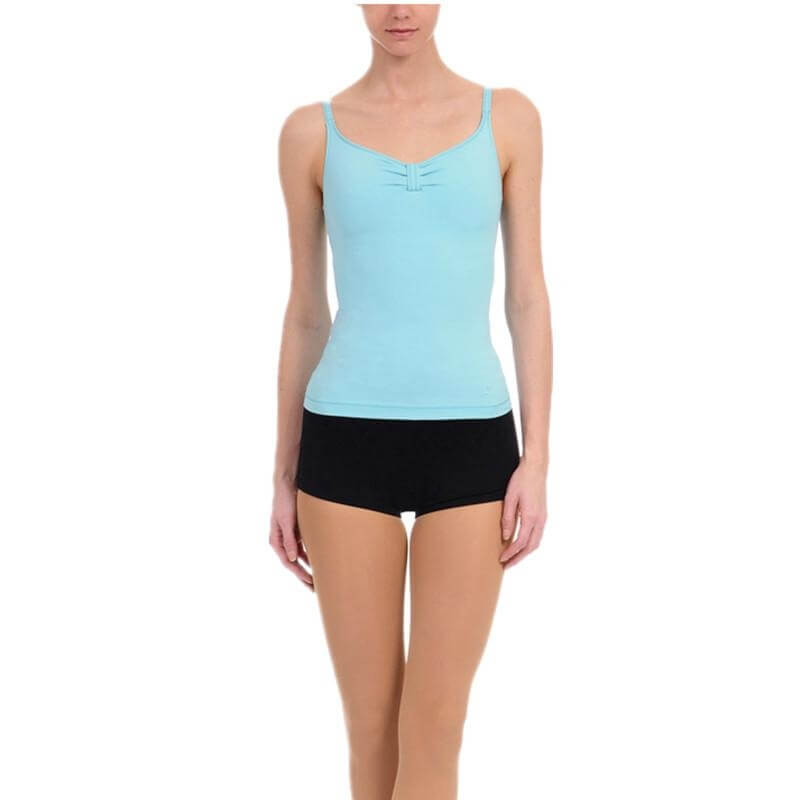 Danskin Women NYCB Cinch-Front Camisole Top