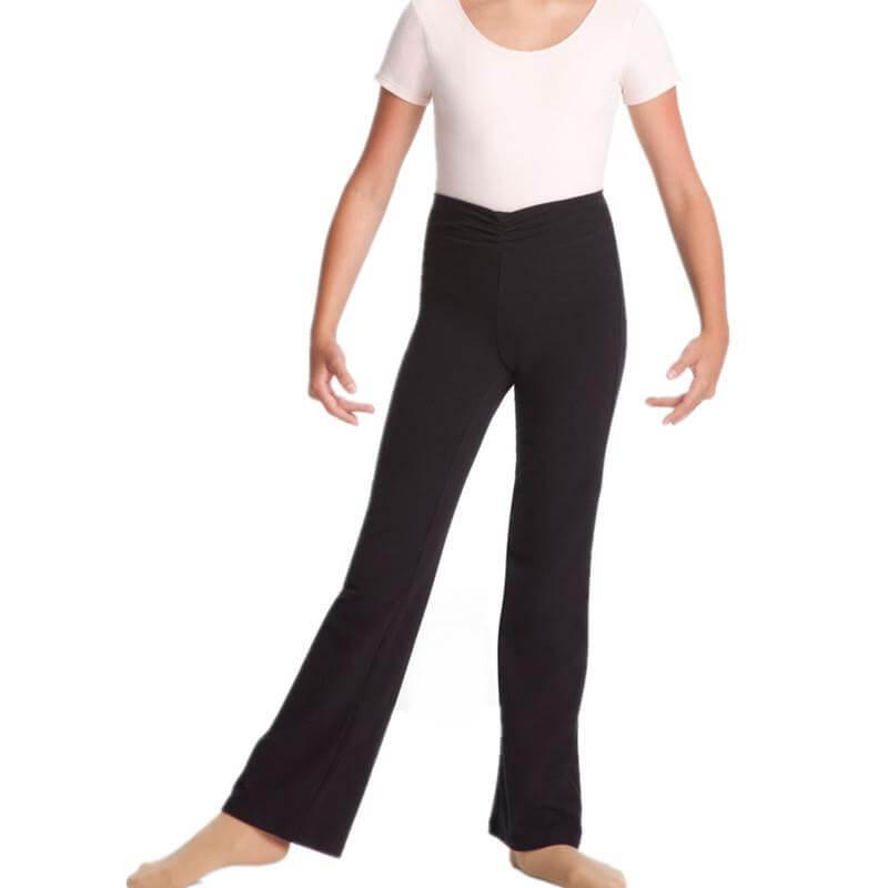 Womens flare yoga pants-6682