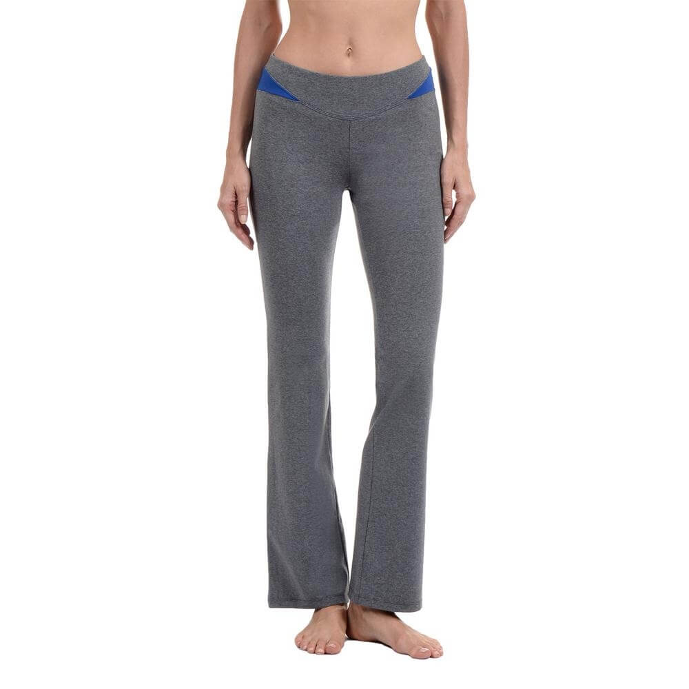Danskin Women Contrast Insert Yoga Pant