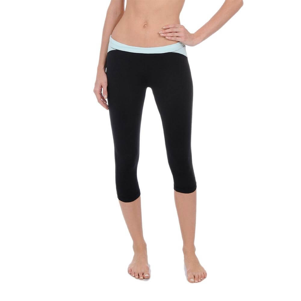 Danskin Women Yoga Wicking Crop Legging