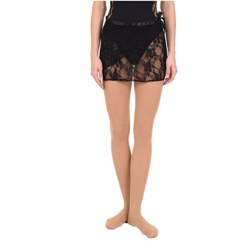 Danskin NYCB Lace Wrap Dance Skirt