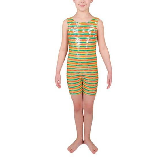 Danskin Child Multicolor Gymnastics Unitard
