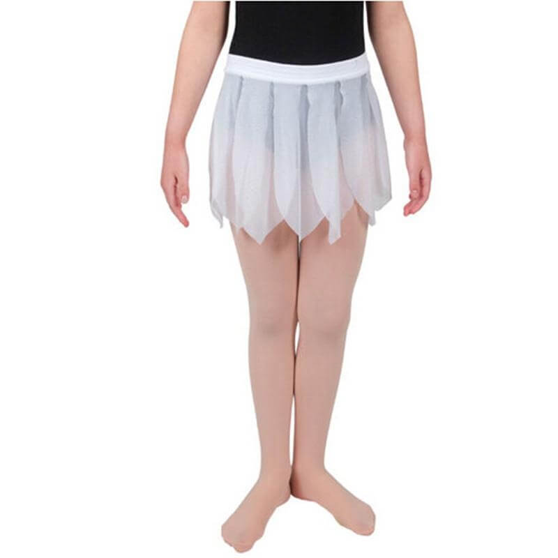 Danskin Child Glitter mesh petal skirt