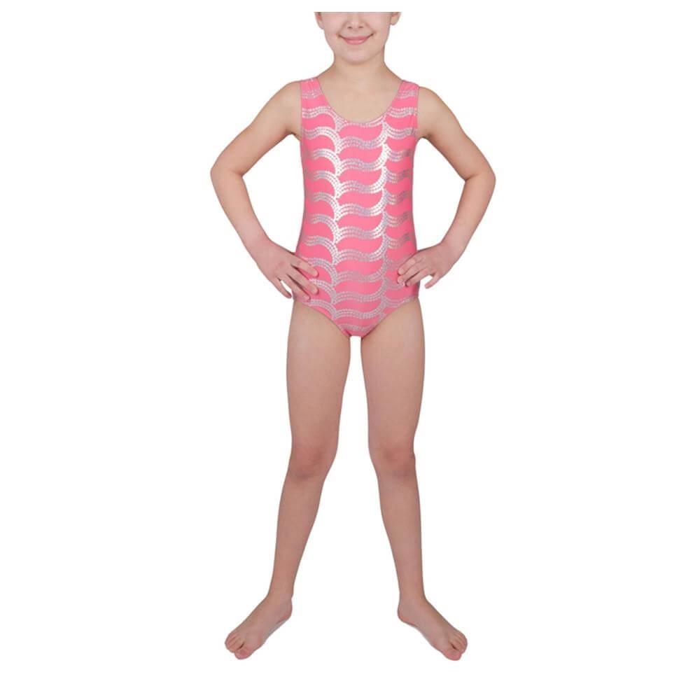Danskin Child Sparkle Gymnastics Leotard
