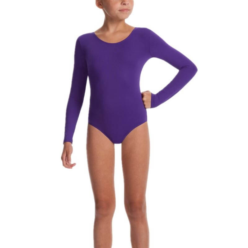 Danskin Girls Team Cheer Long Sleeve Leotard