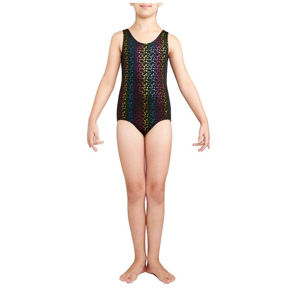 Danskin Child Gymnastics Iridescent Leotard