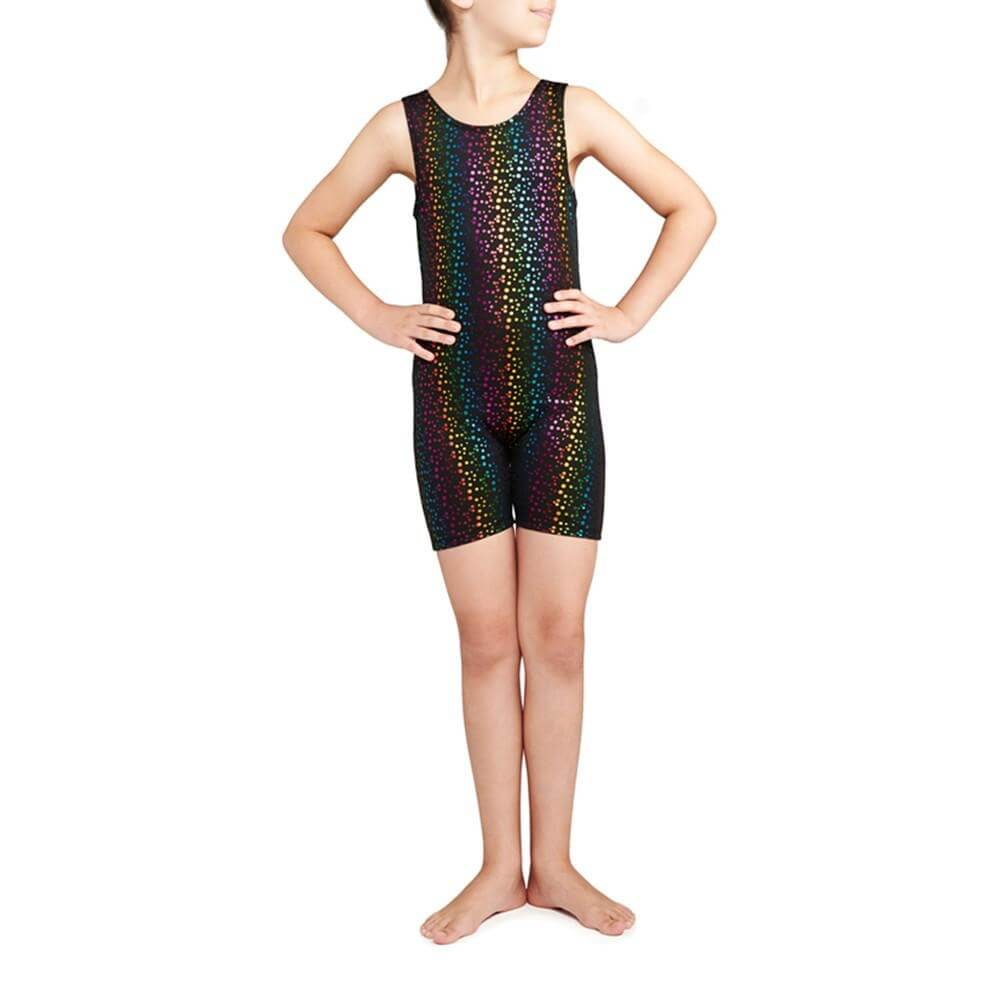 Danskin Child Gymnastics Iridescent Unitard