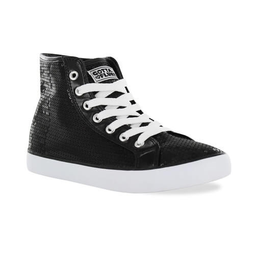Gotta Flurt Disco II Hi Sneakers - Click Image to Close