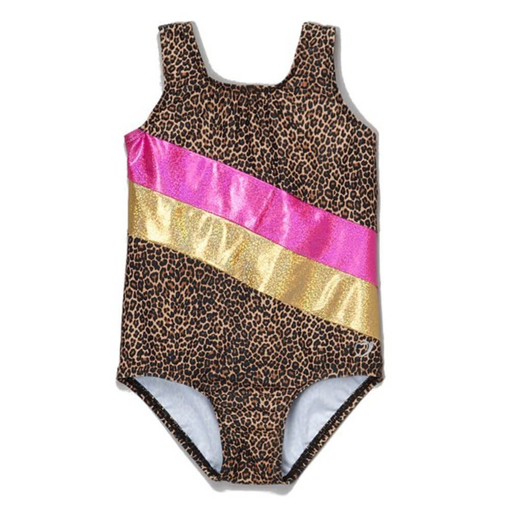 Girl Power Brown Leotard