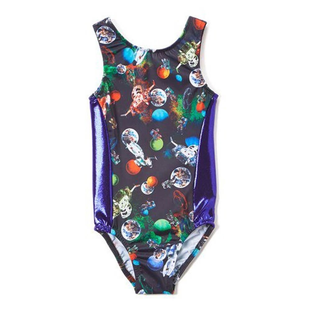 Girl Power Girls Love Space Perfect Fit Leotard