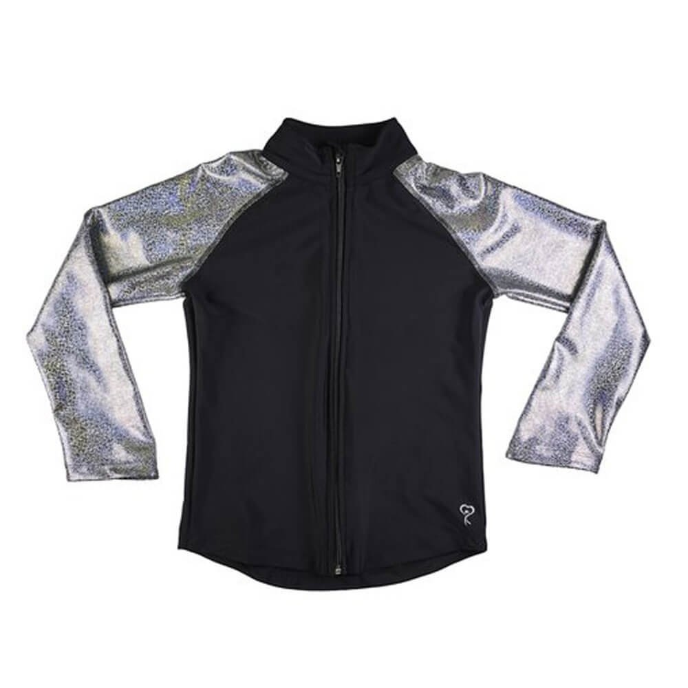 Girl Power Favorite Jacket Silver Metallic
