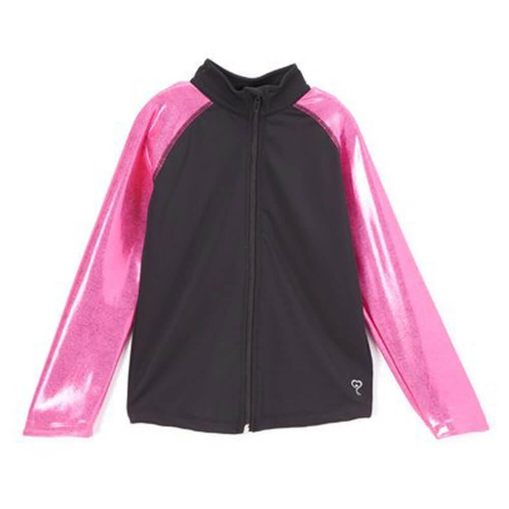 Girl Power Pink Metallic Jacket