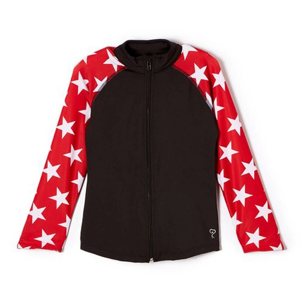 Girl Power Team USA Red Star Jacket