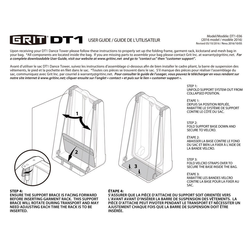 Grit Dance Tower 36""