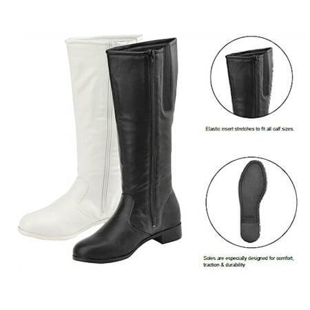 Getz Adult Dallas Knee Hight Boot Black
