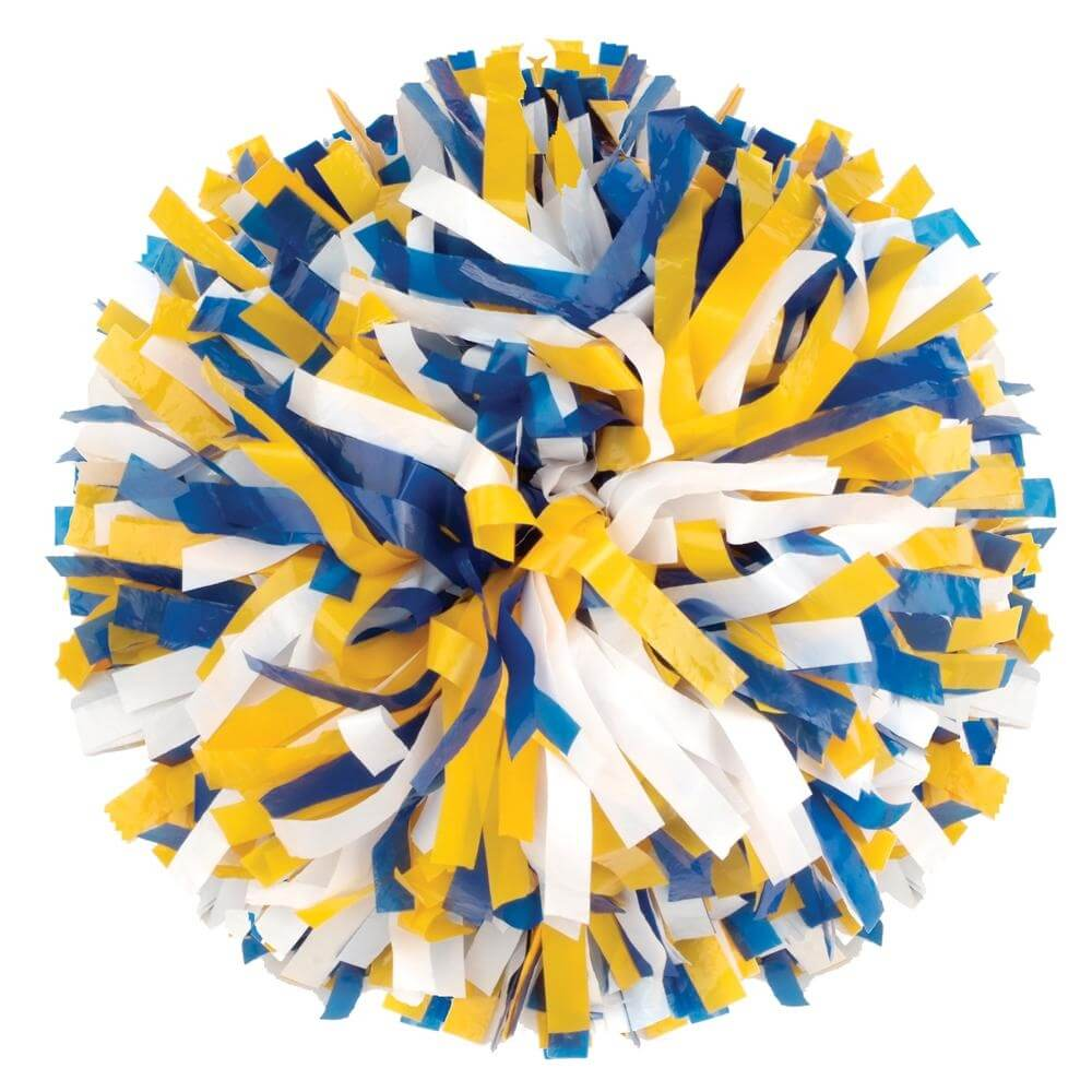 Getz Youth 3 Color Plastic Mix Poms - Click Image to Close