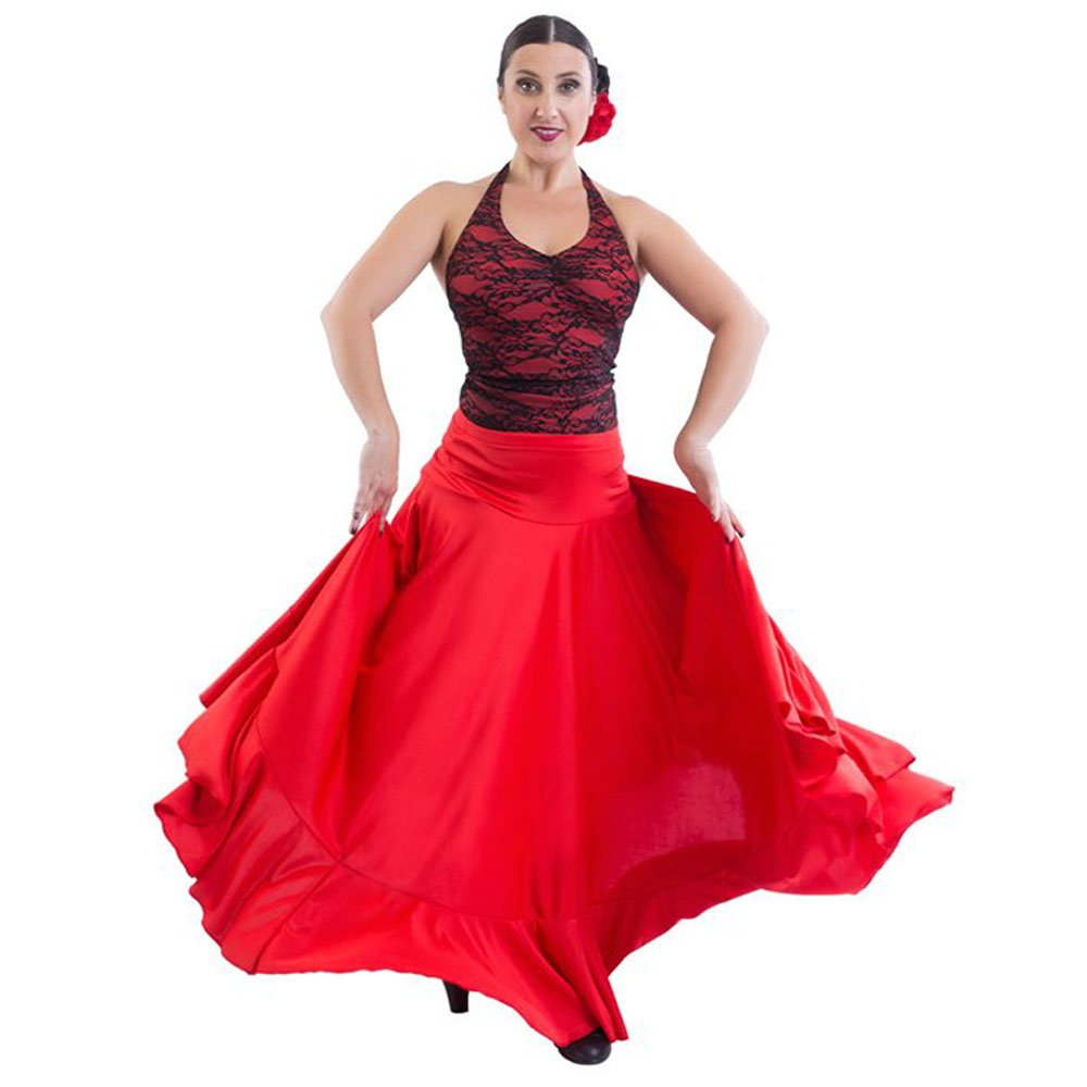 4de0d222f716 Happy Dance Full Circle One Ruffle Flamenco Skirt