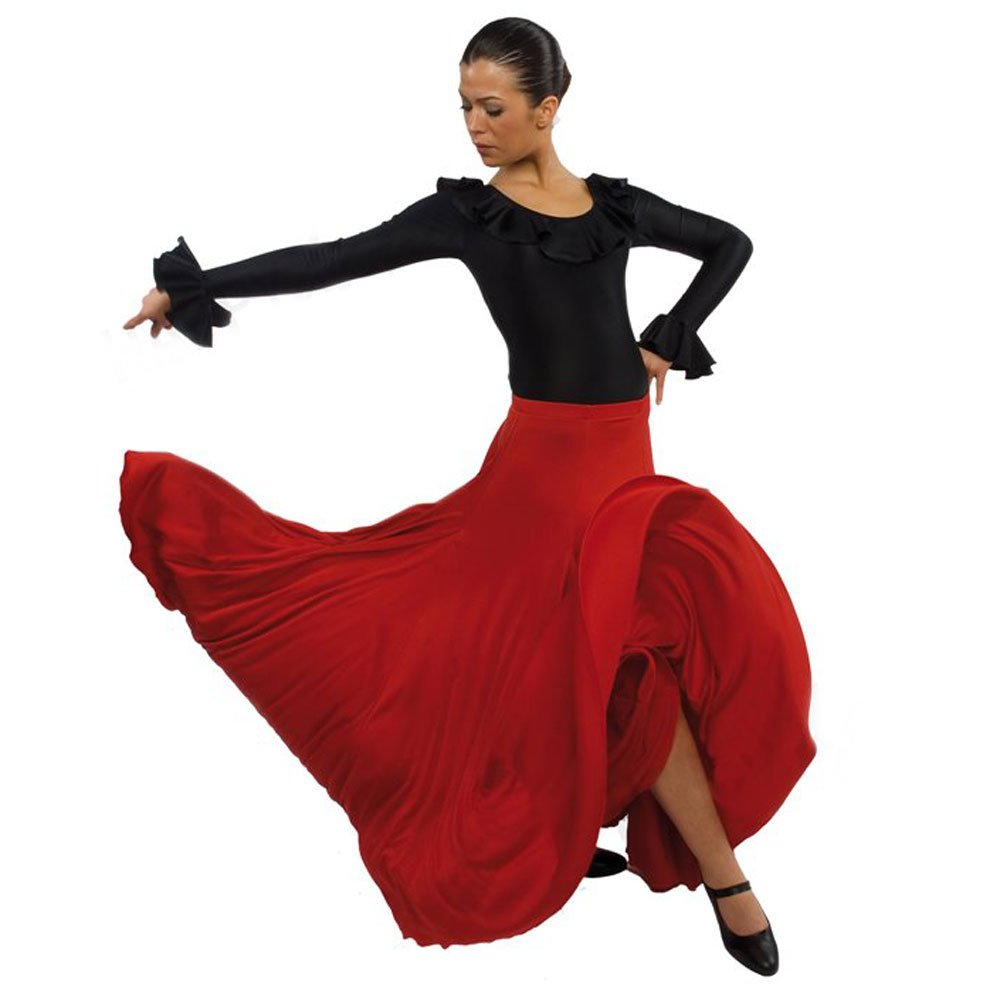 Happy Dance Full Circle And Half Flamenco Skirt