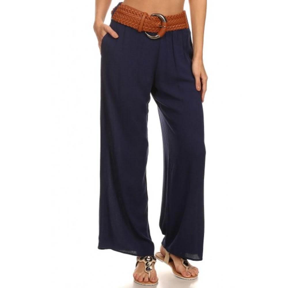 Iris Fit high Waisted Wide Leg Pants