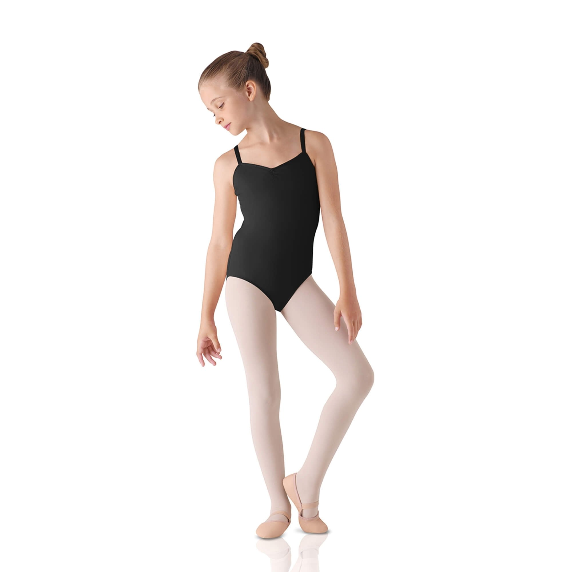 Leo's Children's Pinch Front Camisole Leotard